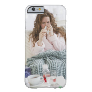 Sick woman on couch barely there iPhone 6 case
