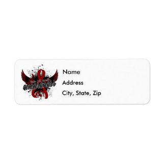 Sickle Cell Anemia Awareness 16 Return Address Label