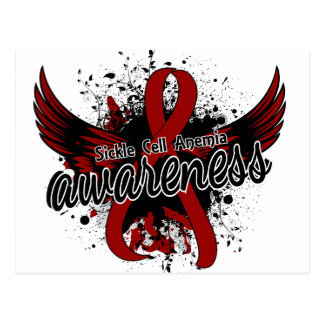 Sickle Cell Anemia Awareness 16 Postcard