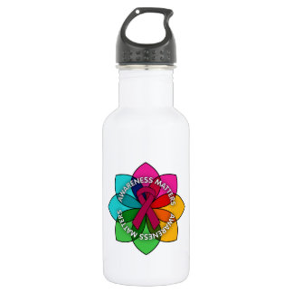 Sickle Cell Anemia Awareness Matters Petals 532 Ml Water Bottle