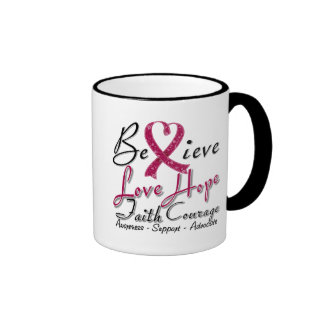 Sickle Cell Anemia Believe Heart Collage Coffee Mug