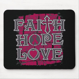 Sickle Cell Anemia Faith Hope Love Mouse Pad