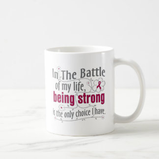 Sickle Cell Anemia In The Battle Basic White Mug