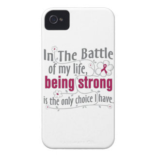 Sickle Cell Anemia In The Battle iPhone4 Case