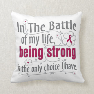 Sickle Cell Anemia In The Battle Throw Pillows