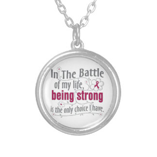 Sickle Cell Anemia In The Battle Personalized Necklace