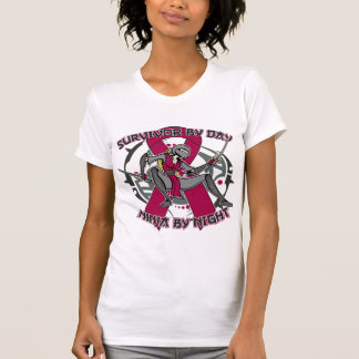 Sickle Cell Anemia Survivor By Day Ninja By Night Shirt