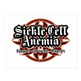 Sickle Cell Anemia Tribal Postcard