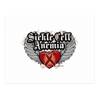 Sickle Cell Anemia Wings Postcards