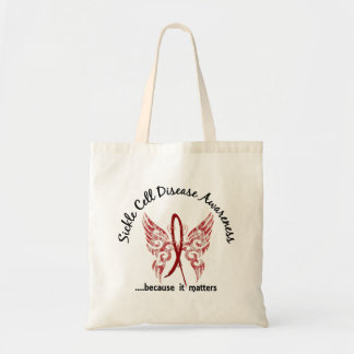 Sickle Cell Disease Butterfly 6.1 Budget Tote Bag