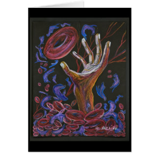 Sickle Cell Pain Awareness 3 Greeting Card
