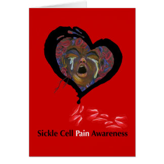 Sickle Cell Pain Awareness Greeting Cards