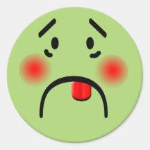 Sicky Smiley Sticker