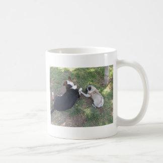 sid at the park (11) basic white mug