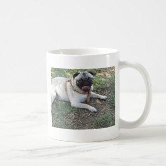 sid at the park (9) basic white mug
