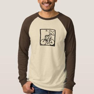 Sid Love on her bicycle Tshirt