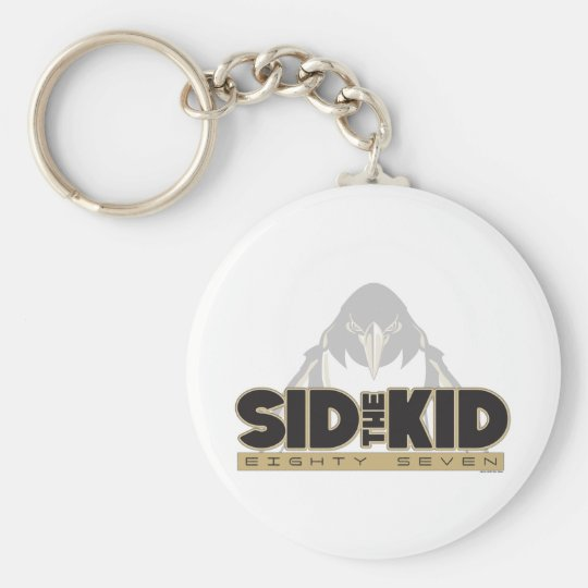 Sid the Kid Basic Round Button Key Ring