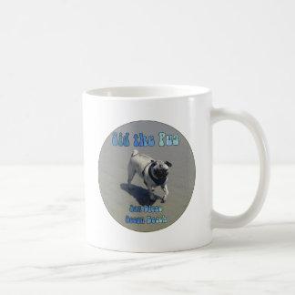 Sid the Pug Basic White Mug