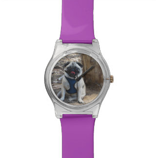 Sid the Pug Gifts and Tees Watch