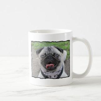 Sid the Puggy Basic White Mug