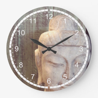 Siddhartha Gautama Photo Large Clock