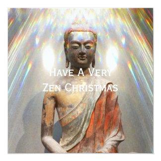 Siddhartha Gautama Statue 13 Cm X 13 Cm Square Invitation Card
