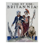 Side By Side - BRITANNIA! Posters