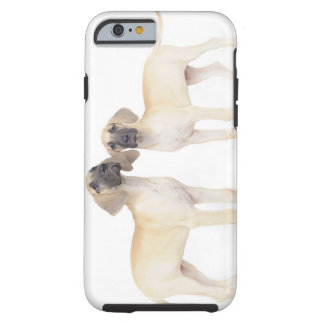 side by side,small group of animals,togetherness tough iPhone 6 case