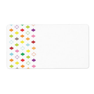 Side Frame Organizing ColorMotif Shipping Label