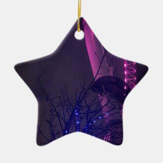 Side of London Eye Christmas Ornament