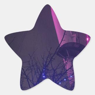 Side of London Eye Star Sticker
