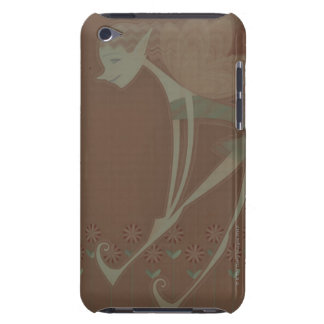 Side profile of a fairy flying iPod touch cover