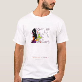 Side profile of a woman posing T-Shirt