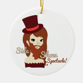 Side Show Spectacle Christmas Tree Ornaments