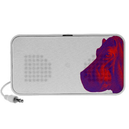 SIDE VIEW HIPPO iPhone SPEAKERS