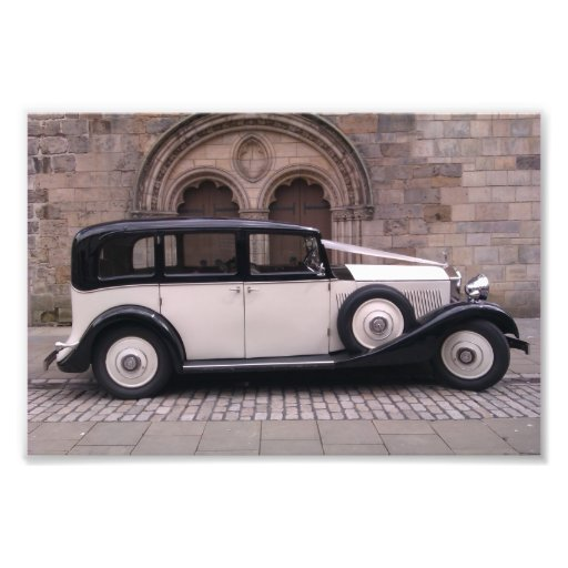 Side View of 1936 Rolls Royce 20/25 Photographic Print