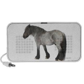 Side view of a Belgian horse, Belgian Heavy Mini Speakers