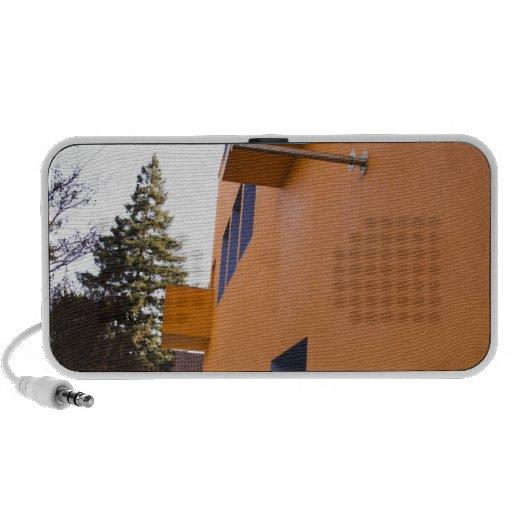 Side view of the Tech Museum, San Jose, California Laptop Speaker