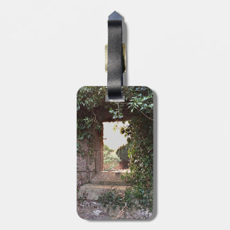 Side Window at West Kirk Culross Luggage Tag