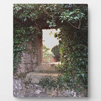 Side Window at West Kirk Culross Plaque