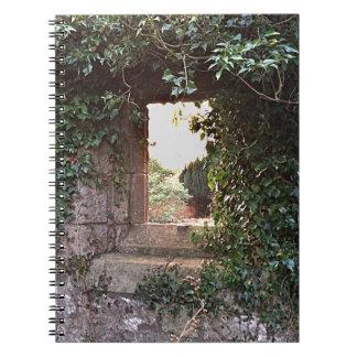Side Window at West Kirk Culross Spiral Notebook