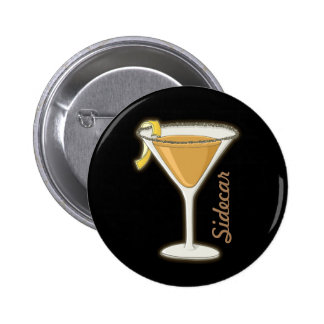 Sidecar cocktail 6 cm round badge