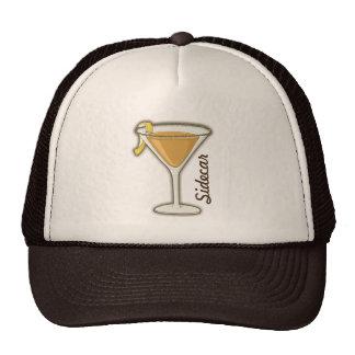 Sidecar cocktail cap