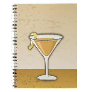 Sidecar cocktail notebook