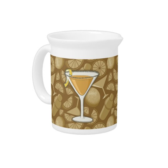 Sidecar cocktail pitcher