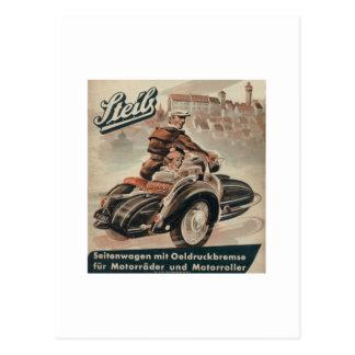 Sidecar Postcard