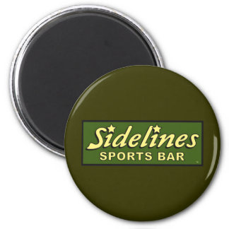 sidelines sports bar extract movie mike judge 6 cm round magnet