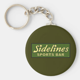 sidelines sports bar extract movie mike judge basic round button key ring