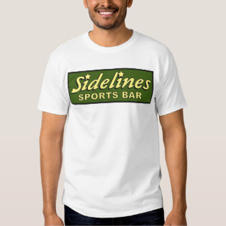 sidelines sports bar extract movie mike judge tee shirt