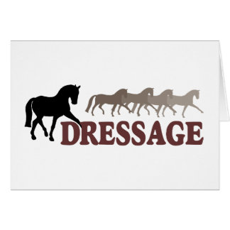 Sidepass Dressage (black/burgundy) Card